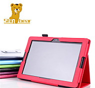 "Shy Bear™ Slim Smart PU Leather Cover Case for Lenovo A10-70 A7600 10.1"" Inch Tablet"