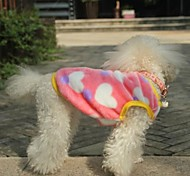 Cute Heart Pattern Vest For Pet Dogs(Assorted Sizes)