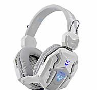 Bluelover D500 Headphones with Built-in Microphone for Computer