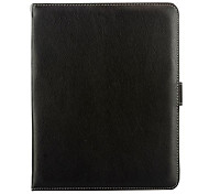 Black Magnetic Flip Stand Leather Wallet Case for 9.7 Inch Tablet PC