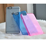 LLUNC Clear Colorful Back PC Cover for iPhone 6