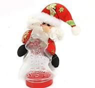18cm Christmas Gift, Santa Claus Storage Tank (2pcs)(Random Pattern)
