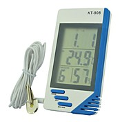 KT908 Multifunctional Electronic Indoor And Outdoor Temperature Display Temperature And Humidity Table