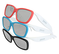 Myopia Circular Polarized Glasses Movie Theater Stereoscopic 3D Glasses for Tcl, Hisense, Skyworth Tv