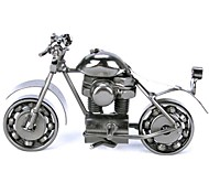 FanJiuShi ® Metal Motorbike House Furnishing Office Desk Decorations