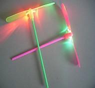 luminoso libellula di bambù (colori casuali)