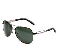 Gafas de Sol hombres's Clásico / Ligeras / Retro/Vintage / Deportes / Aviador / Polarizada Aviador Gris Oscuro Gafas de Sol / Conducción