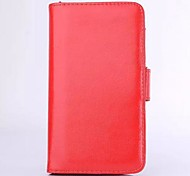 Candy Color Full Body PU Leather Case with Card Slot and Wallet Function for iPhone 5C