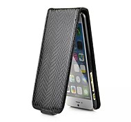 Snakeskin Pattern PU Full Body Case with Upper and Lower Open for iPhone 6 (Assorted Colors)