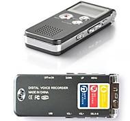 Перезаряжаемый диктофон, 8ГБ 650hr, USB Telephone, Dictaphone, MP3 Player