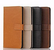 4.5 Inch Luxury Pattern Wallet Leather Case for Sony Xperia E (Assorted Colors)