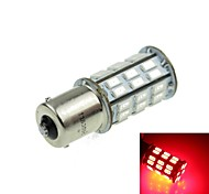 1156 (P21W Ba15s) 12W  2-Mode Red 1000LM for Car Brake Light (DC12V)