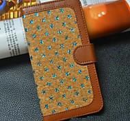 retro woolgrain pu Ganzkörper-Fall mit Standplatz für iphone 6 (Farbe sortiert)