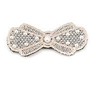 1pc Korean Pearls Bowknot Lace Posted Magic Belt(Random Color)