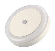 Cool Lntelligent Light-Control Night Light (Round,White)