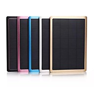 10000mAh Portable Solar External Battery for iphone6/6plus/5S/4S/5  Samsung S4/5 HTC Blackberry and other Mobile Devices