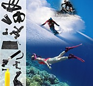 PANNOVO G-625 Out Sports Game Set Chest Head StrapFloating GripMonopod Suction Cup for Gopro 3/3+/4