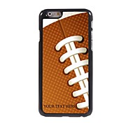 Personalized Phone Case - Rugby Design Metal Case for iPhone 6