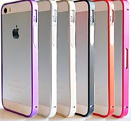 DF® Ultra Thin 07mm Metal Aluminium Frame Bumper for iPhone 5/5S