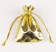 7 * saco de embalagem de jóias 9 centímetros de presente (ouro, prata) (1pc)