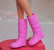 Barbie Doll Pink Lady Boots