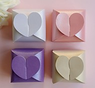 12pcs Love Heart Candy Box Gift Chocolate Boxes Wedding Party Baby Shower Favor