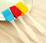 высокая термостойкость резина для барбекю мягкой щеткой (случайный цвет)