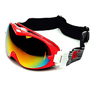 HB Red Frame Double Lens Compressive Snow Googgles