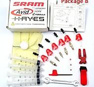 WEST BIKING®AVID Shimana Juicy Dot Hayes Disc Brake Bleed Kit  r1 RX K24 K18 J3 J5 J7 Cycling  Brake Bleed Kit