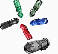 LED Flashlights / Handheld Flashlights LED 3 Mode 300 Lumens 14500Camping/Hiking/Caving / Everyday Use / Traveling / Working /