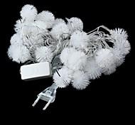 translúcido eu ligue 5m 3w flash de natal 28 levou-corda lâmpada luz rgb (110v)