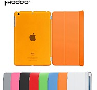 ikodoo®  PU Leather case with Plastic Back Cover Case for iPad Air 2 (Assorted Colors)