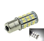 1156 (P21W Ba15s) 12W  2-Mode White 1000LM 6000K for Car Brake Lamp (DC12V)