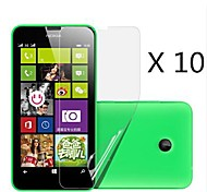 (10 pcs)High Definition Screen Protector for Nokia Lumia 630/635