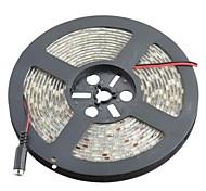impermeable 72w 5400lm 6400K 300 x 5050 SMD LED tira luces blanco decoración de luz (12V DC 5m /)
