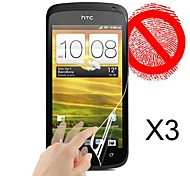 Matte Screen Protector for HTC One S (3 PCS)