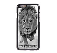 Personalized Phone Case - Wild Lions Design Metal Case for iPhone 6