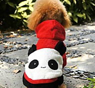 Lovely Panda Costume For Pet Dogs (Assorted Sizes)