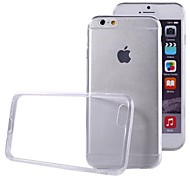 Ultra-Thin Transparent Invisible TPU Plastic Cover for The iPhone 6 (Assorted Colors)