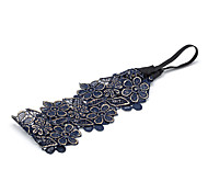 1PC Korean Hollow Out Flowers Lace Headband(Random Color)