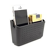 materiales blandos estantes de automóviles sencillos para el teléfono móvil y artículos diversos con cinta de doble cara