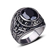 Ring Gift Jewelry Stainless Steel Ring Band Rings 1pc