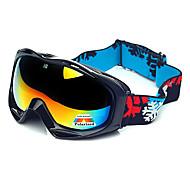 HB Black Frame Protection Polarized Snow Goggles