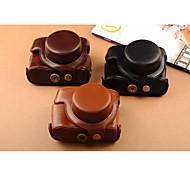 pajiatu® retro pu Lederöl Hautkamera Schutztasche Tasche Cover für Canon Powershot G1X Mark II G1X m2