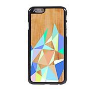 Color Rhombus Design Aluminium Hard Case for iPhone 6