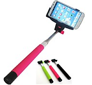 Handheld Bluetooth Selfie Stick Monopod Extendable for and Others (Assorted Colors)