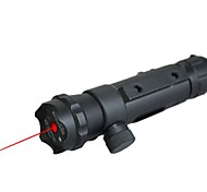 lt-016 rode laser pointer (5 MW, 650nm, 1x16340, zwart)