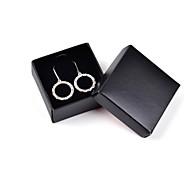 Classic Stone Set Drop Earrings Gift Box