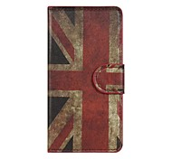 Retro Union Jack PU Leather Case Cover  for Sony Xperia Z3 Compact