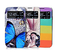 Toophone® JOYLAND Intelligent Fan Dormancy Carrying Case for Samsung S4 i9500(Assorted Color)